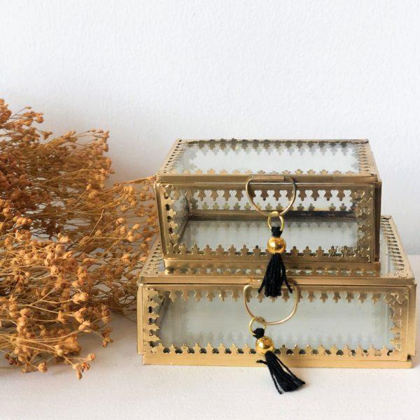 Boîte à bijoux Dentelle