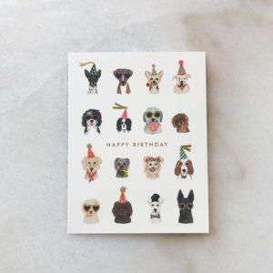 Carte Birthday dogs