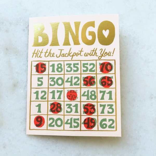 Carte Bingo Love