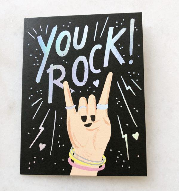 Carte You Rock