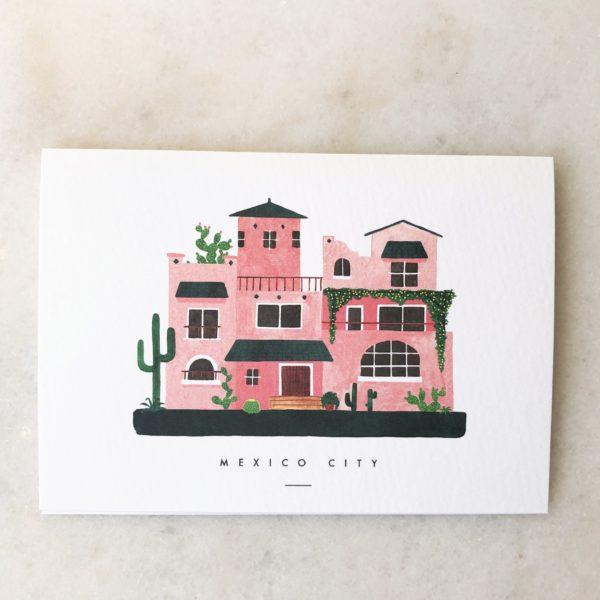 Carte Maison du Monde - Mexico, San Francisco ou Bridge Town