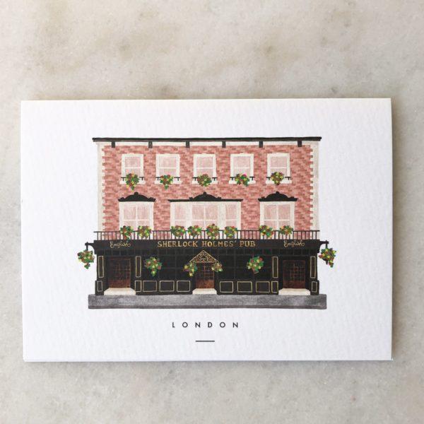 Carte Maison du Monde - Londres ou Copenhague