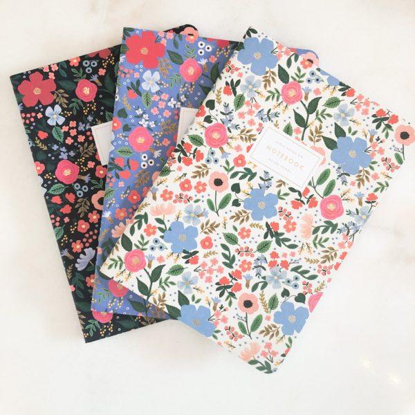 Carnet Petites fleurs