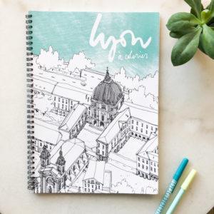 Carnet de coloriage de Lyon