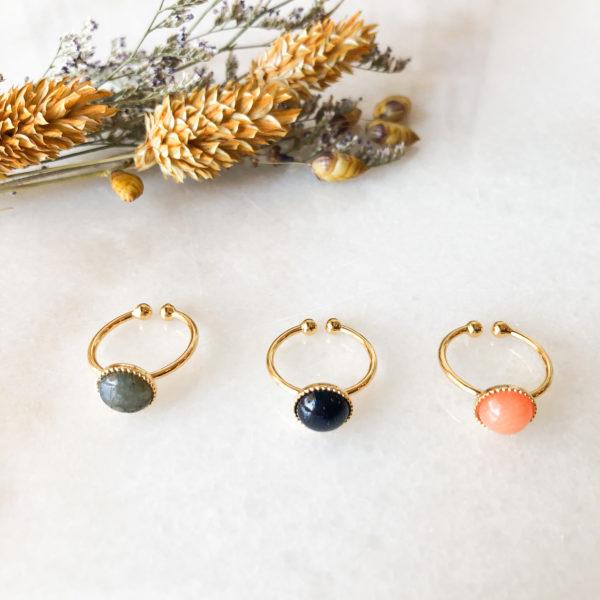 Bague Piana ronde -Winter collection