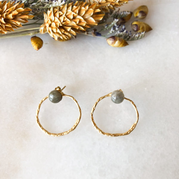 Boucles d'oreilles Calvi - Winter collection