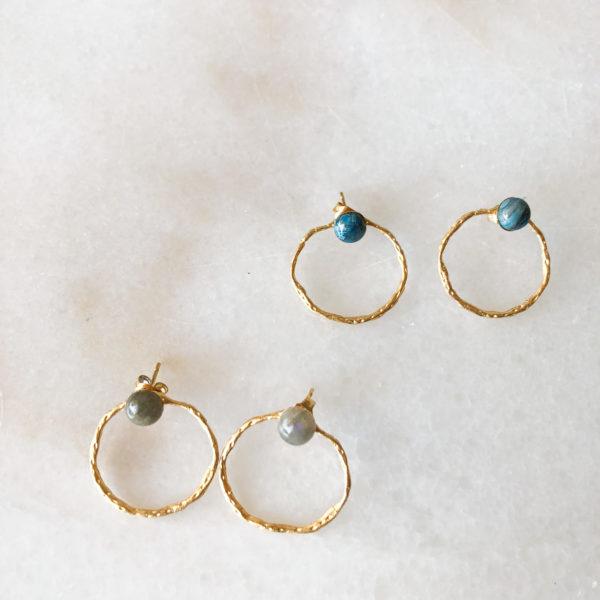 Boucles d'oreilles Calvi - Winter collection