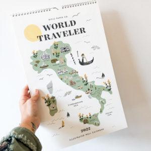 Calendrier 2022 World Traveler