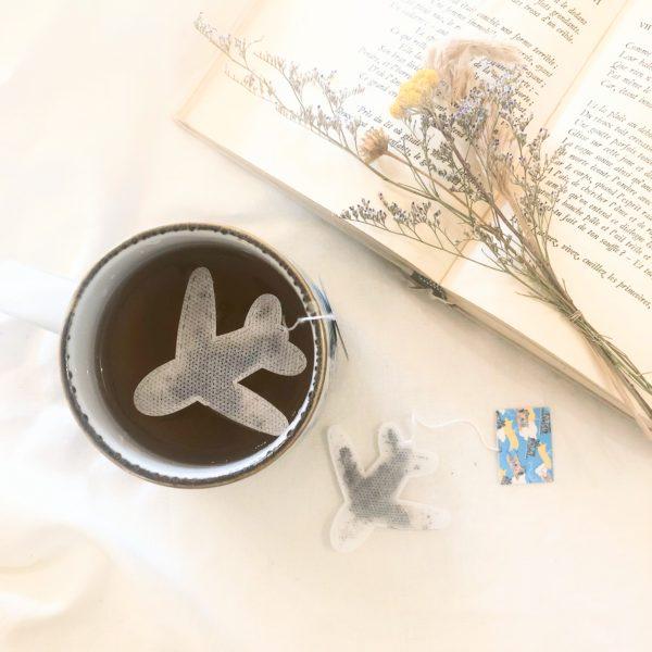 Sachets de thé - Avion