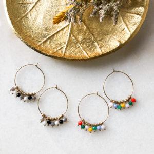 Boucles d'oreilles Pampilles