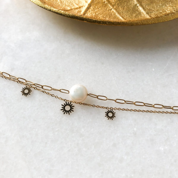 Bracelet Sunlight - Nacre