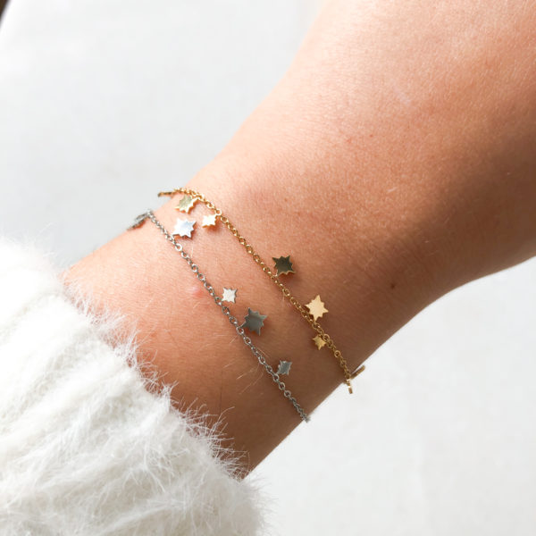 Bracelet Starlight Or ou Argent