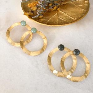 Boucles d'oreilles Soccia - Winter collection