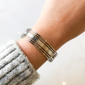 Bracelet Anastasia Argenté
