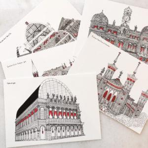 Cartes de Lyon
