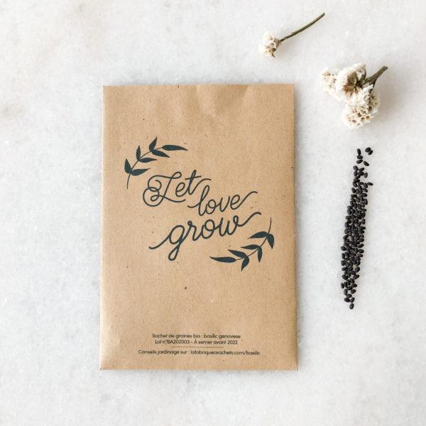 Graines à semer - cultiver l'amour