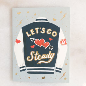 Carte Let's go steady