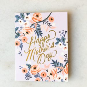 Carte Happy Mother's day - Purple