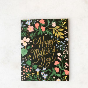 Carte Happy Mother's day - Black