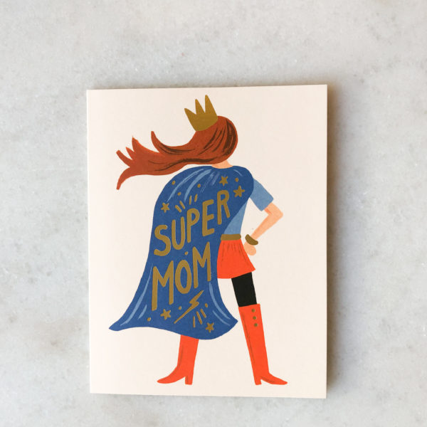 Carte Super Mom