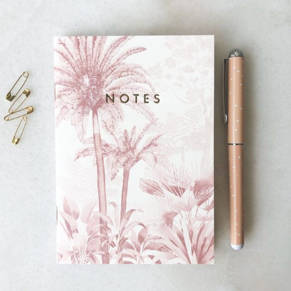 Duo de carnets - Pink Forest