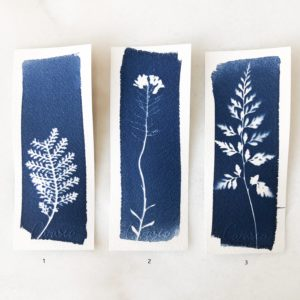 Marque page Cyanotype Carasco #6