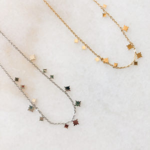Collier Starlight Or ou Argent