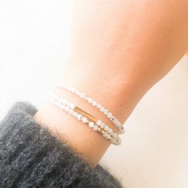 Bracelet Bonheur Blanc