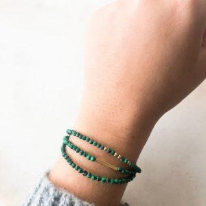 Bracelet Bonheur Vert