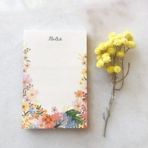 Bloc notes - Daisy