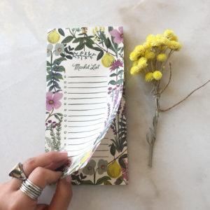 Market List - Aux fleurs