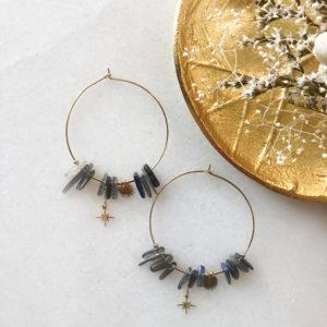 Boucles d'oreilles Palmtree